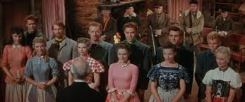 1954 – Seven Brides For Seven Brothers – Academy Award Best ... Seven Brides For Brothers Scene Where The Girls Are Dancing Mr Ds Theatre Blog Relive The Olden Days With This Iconic 7 Brides For Brothers Review Seven At Muny About Yloc York Light Opera Company Ltd Megan Mike Pats Barn Wedding Photographer Lucy Schultz Operetta Opens Sequim Irrigation 210 Movie Clip Bless Your Warner Bros Uk Movies Watch On Netflix Today 1954 Lobby Card 810 Sobbin Women