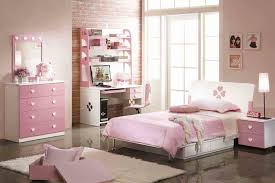 Captivating Bedroom Decorating Ideas Using Various Bed Dressing Girl Pink Design