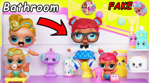 LOL Surprise Dolls Lil Luxe Gets A Big Sister With Shopkins Happy Places DIY Custom Blind Makeover