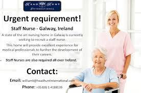 Galway Medical Hiring Job Career Opportunity Nursing Staff