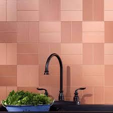 Copper Tiles For Backsplash by Copper Tiles Backsplash Jeffrey Court Satin Copper 11 5 In X 12