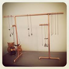 My Husband Built Me A Copper Pipe Jewelry Display By Ms Reed Via Flickr