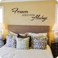 Forever And For Always Wall Decals BedroomIn
