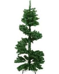 Northlight 55 Ft Spiral Topiary Slim Artificial Christmas Tree With