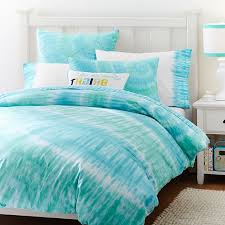 bedroom ocean blue tie dye bed sheets for bedroom decoration ideas