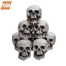 Scary Halloween Props For Haunted House by Aliexpress Com Buy Mini Scary Halloween Skull Decorations