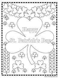 Creative Inspiration Saint Patrick Day Coloring Pages 259 Free Printable St Patricks