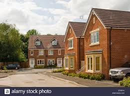 100 What Is Detached House New Build Red Brick Detached And Semi Detached Houses Stock