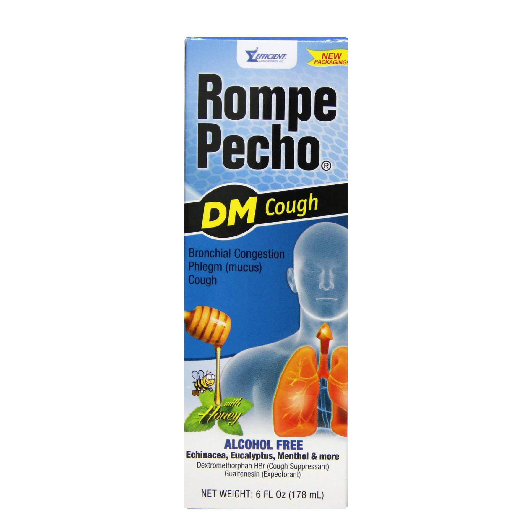 Rompe Pecho DM Cough Relief Syrup