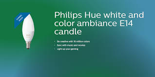 philips hue range being extended to e14 candle bulbs from next