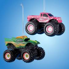 100 Madusa Monster Truck Toy 225 Jam Hot Pink Decorative Christmas