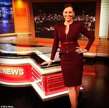 The Original Nine News Brisbane Reporter Eva Milic Appears To Be Trendsetter
