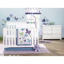 amazon com nojo beautiful butterfly 9 piece crib bedding set baby