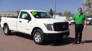 100 Regular Cab Truck FIRST LOOK 2017 Nissan Titan Review Nissan Of