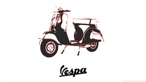 Vespa 4K HD Desktop Wallpaper For Ultra TV