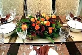 Dining Room Table Flower Arrangements Centerpieces Floral Arrangement Fall