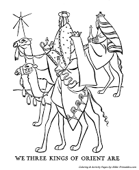 Christmas Story Coloring Pages 1