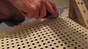 Recaning A Chair Back by How To Recane A Chair Youtube