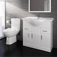 ibathuk badezimmer spültisch speichereinheit passendes stand wc set keramik bs2807