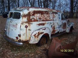 1948 Chevrolet Panel Truck In Parkers Prairie, Minnesota | 1947-55 ... Nostalgia On Wheels 1949 Chevy 12 Ton Panel Truck Eddies Parlor 1950 Lovely 1959 Apache Van For Sale New Cars 47 Chevrolet Street Rod Hudson And Custom Youtube 3100 Stock A72004 For Sale Near Columbus Oh 1954 Gmc 250 Gateway Classic 549tpa Vintage Pickup Searcy Ar Jim Colluras Chevs Of The 40s News Events Track Chev Panal Delivery Van In Melbourne 1963 Chevrolet Panel Truck 75597 Mcg Customer Gallery 1947 To 1955 Coe Front Clip On A 1 Ton Panel Truck Rear