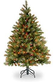 National Tree 45 Foot Downswept Douglas Fir With 450 Multicolor Lights PEDD4 325