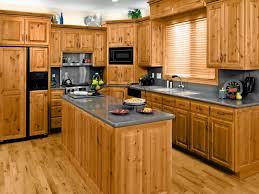 traditional kitchen ideas with light brown oak wooden kitchen