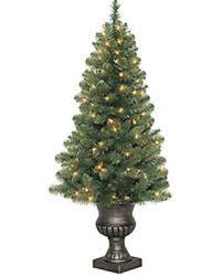 4ft Christmas Tree Sale by Bargains On Holiday Living 4 Ft Pre Lit Arctic Pine Artificial