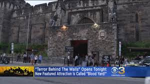 Eastern State Penitentiary Halloween Youtube by Terror Behind The Walls U0027 Opens Friday With New Attraction Cbs Philly