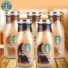 Fresh Arrival Of American Import Starbucks Coffee Frappuccino Flavor Mocha Bottled 281ml5 Bottle