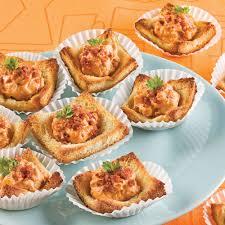 recette canape canapés au fromage et bacon entrées et soupes recettes 5 15