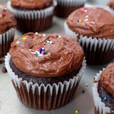 Chocolate Birthday Cupcakes Who wouldn t love a rich chocolate cupcake with fluffy milk