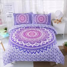 Purple Mandala Duvet Cover Set – Boho Luxx
