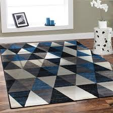 Royal Blue Area Rug Red Carpet Texture Pattern Beige Tileable Timber Wall Shelf Unit Wood Rustic Shelving