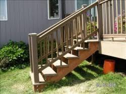 Deck Stair Rails Home Design Ideas and
