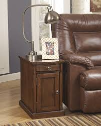 End Table With Attached Lamp by Furniture Chairside Tables Small Round Bedside Table End