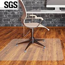 mvpower office chair mat for floors pvc clear