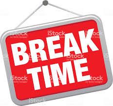 BREAK TIME Royalty Free Break Time Stock Vector Art Amp More Images Of Design