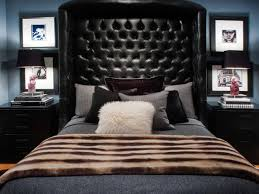 Black Leather Headboard King Size by Photo Page Hgtv
