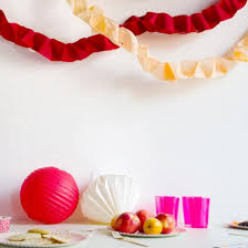 How To Make Crepe Paper Garland