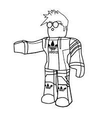 Coloring Pages Of Roblox To Print For Kids Pictures