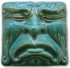 ceramic relief face tiles art google search ceramics