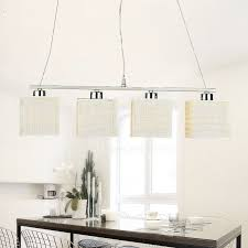 light beige shade traditional pendant lights for kitchen room