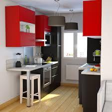meuble four cuisine cuisine tendance et ambiance moderne colorée et