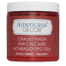 Americana Decor Chalky Finish Paint BLICK art materials