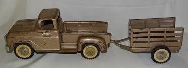 100 Toy Farm Trucks And Trailers Tonka USA Brown Truck W Trailer Original