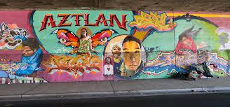 Chicano Park Murals Map by Aztlan Mural Under I5 Overpass Chicano Park Aztlán From U2026 Flickr