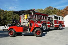 100 Fire Truck Golf Cart AFVD And The Flame Red Eastern S