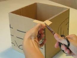 boîte en avec couvercle tuto cartonnage loisirs créatifs
