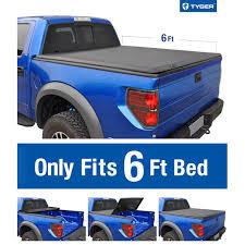 Tri-Fold Soft Tonneau Cover For 1982-2013 Ford Ranger; 1994-2011 ...