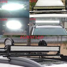 100 Work Lights For Trucks LED LIGHT BAR HIGH POWER ALLOY WORK LIGHT 4WD SECKELL 72W 6000K
